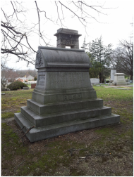 chauncey rose monument